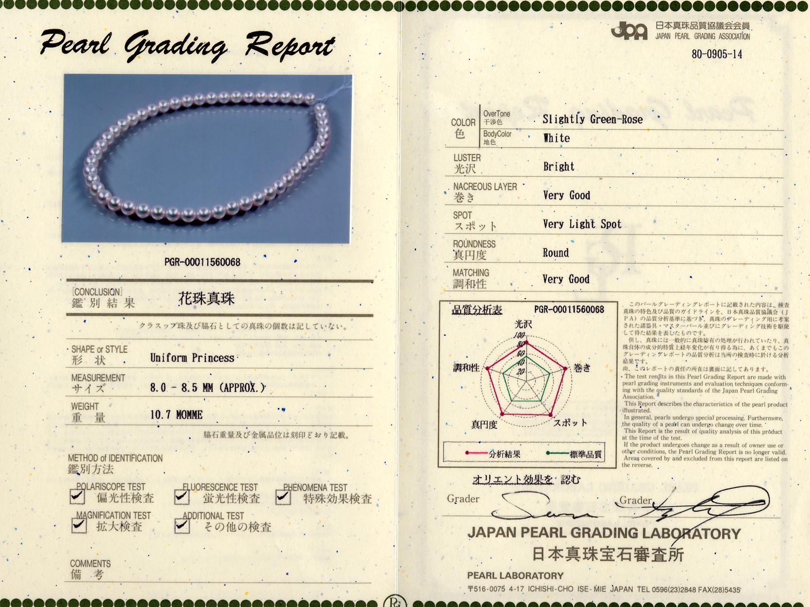 日本真珠宝石審査所